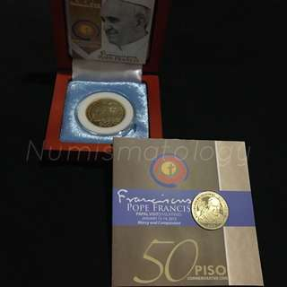 Pope Francis Commemorative Coins