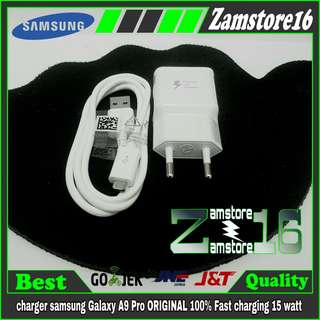 charger samsung Galaxy A9 A9 Pro ORIGINAL 100% Fast charging