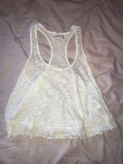 Abercrombie and Fitch Sheer top