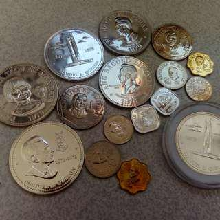 Lots of Silver commemorative coins (Sale)