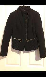 Kookai black coat size 34