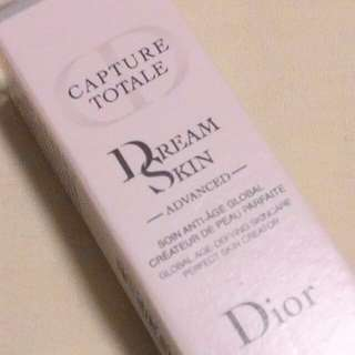 DIOR CAPTURE TOTALE DREAM SKIN ADVANCED (LATEST UPGRADED FORMULA)  GLOBAL AGE-DEFYING SKINCARE  PERFECT SKIN CREATOR  RM38 LIMITED TIME