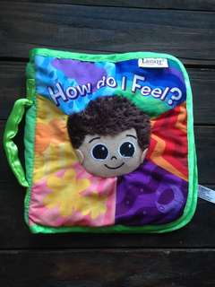 Lamaze How do I feel cloth book