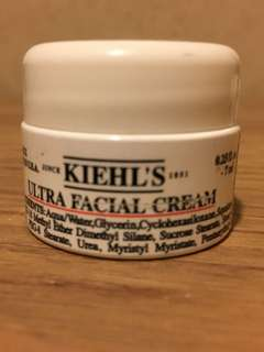 REPRICED! Kiehl's Ultra Facial Cream 7ml Travel