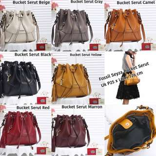 VERY RECOMENDED!!!! Fossil sling bag tas serut fossil tas import wanita with premium quality