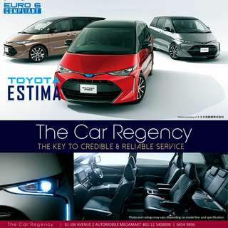 Toyota ESTIMA 2.4 AERAS ( 7 SEATER )( NEW )( MPV ) ×TAG SIENTA WISH ODYSSEY STEPWAGON ELGRAND ALPHARD ESQUIRE ESTIMA NOAH PRIUS VELLFIRE VOXY TOURAN