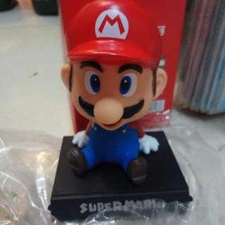 Mario Bobble Wobble Head