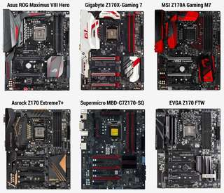 BIOS Mod Z170, H170, B150 & H110 Support 8th Gen CPU