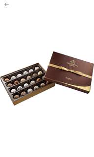 GODIVA Truffe Signature 24 pieces chocolate truffle box 松露朱古力