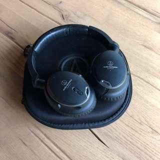 Audio Technica Active Noise Cancellation Headphones