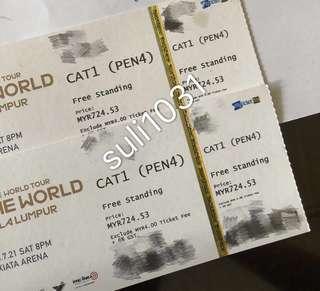 Wanna One : One The World Tour in Kuala Lumpur - Cat 1 Pen 4