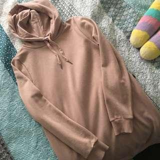 Sweatshirt dress (hoodie)