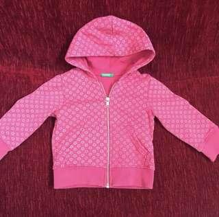 Benetton Hoodie Jacket (1-2Y)