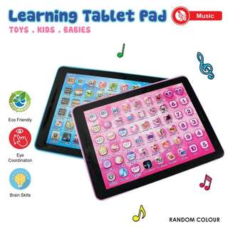 MINI TABLET PAD EDUCATIONAL LEARNING TOY FOR KIDS