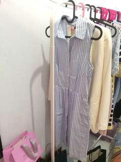 H&M stripes dress cute