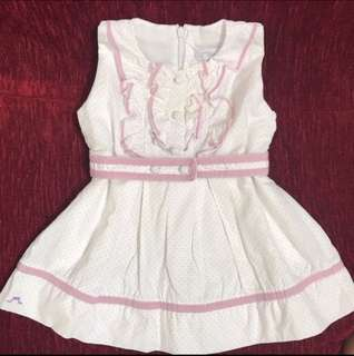 Chateau de Sable little girl dress (18M)