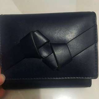 Charles & Keith Blue Wallet