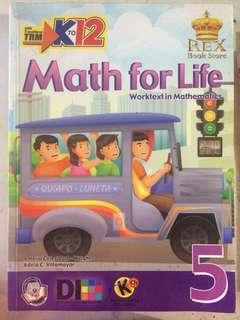 Math for Life Grade 5