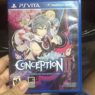 Conception 2 Psvita Game