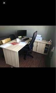Office Table set! 2 item