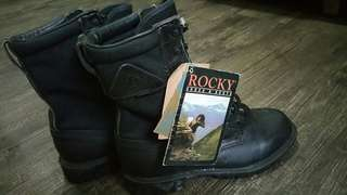 New..sepatu boot Rocky Boots ori size 7 made in USA