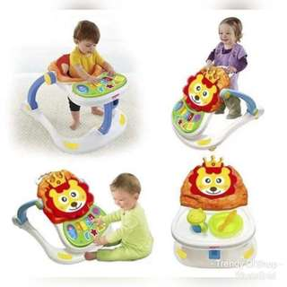 KiD'S UNiSEX 4 iN 1 WALKER W/MiC & PiANO