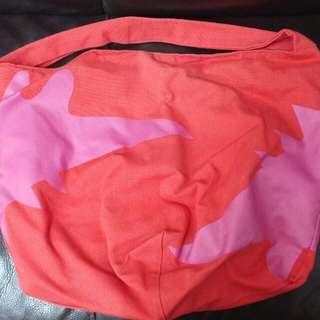 agnes b sport 紅色袋