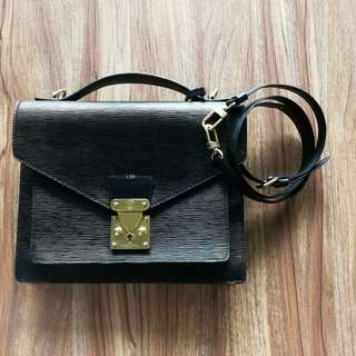 Authentic Louis Vuitton Monceau Bag