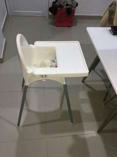 Preloved Kursi makan ikea/baby chair ikea