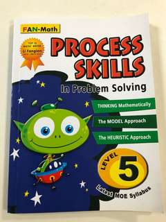 P5 Maths Assessment book