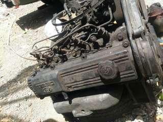 KIA R2 Diesel Engine Running Accepting Swap