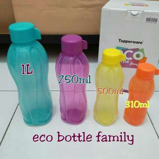 Eco botol family 4 pcs