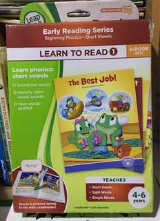 Leapfrog learn to read series 1 and 2 (for tag pen)