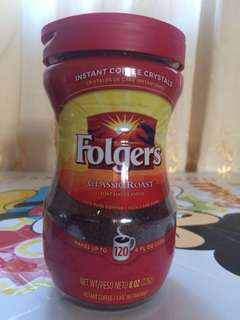 imported folgers coffee 226g