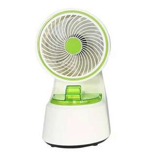 Spray water spray humidifier fan Mini mute portable fan