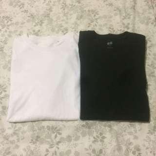 UNIQLO Men SUPIMA Cotton Crew Neck T-Shirt Bundle