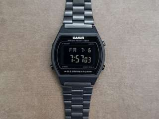 Authentic Black LCD Vintage Casio Illuminator