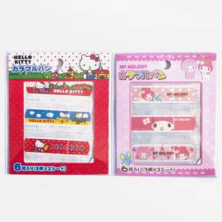 Band Aid Plasters Sanrio themed