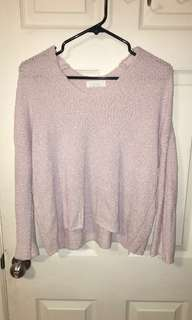 OAK & FORT lavender light sweater
