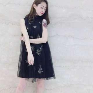 清倉snidel 繡花裙