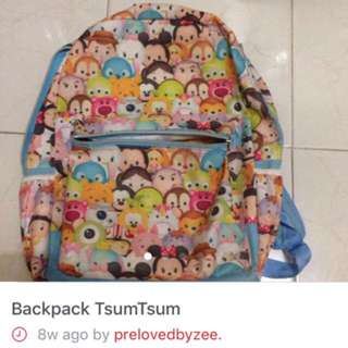 Backpack Tsum Tsum