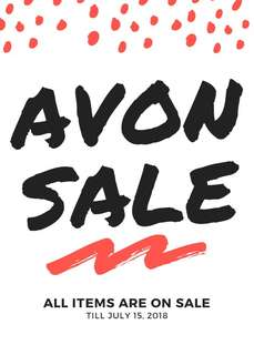 SALE!!! AVON PRODUCTS TILL JULY 15!!!