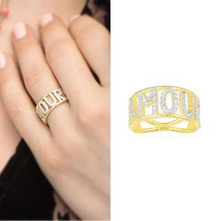 AMP Amour ring Size6