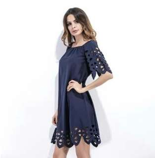 Offshoulder dress s-2cl