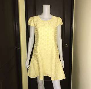 YELLOW POCKET DRESS PHP 349