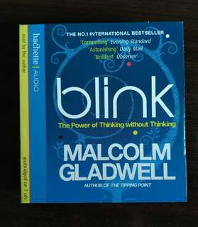 Blink, unabridged audio book
