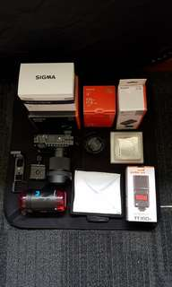 Sony Mirrorless Camera & Accesories