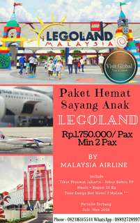 Paket Liburan Legoland By Malaysia Airline