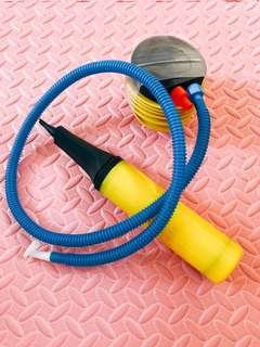 全新汽球充氣手泵+腳踏泵