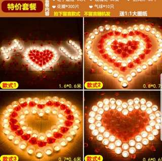 🚚 INSTOCK LED CANDLES FOR PROPOSAL PACKAGE